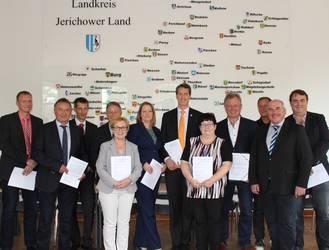 Unterzeichnung der Ausbauverträge 2017