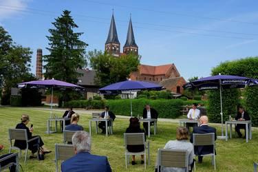 Stiftung Kloster Jerichow wird 2022 in die Kulturstiftung Sachsen-Anhalt überführt © Thomas Skiba