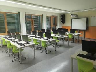 Der neu ausgestattete Computerraum © Landkreis Jerichower Land
