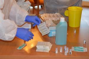 Impfstart planmäßig angelaufen