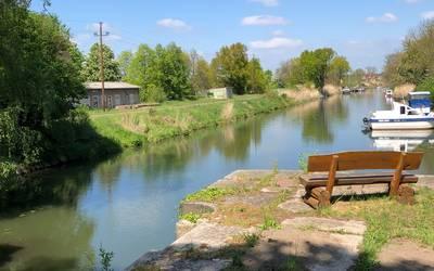 Ihlekanal in Bergzow © Gemeinde Elbe-Parey