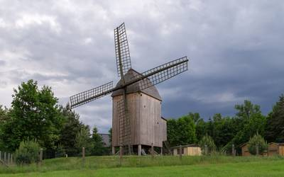 Bockwindmühle Parchen © Christian Greuel