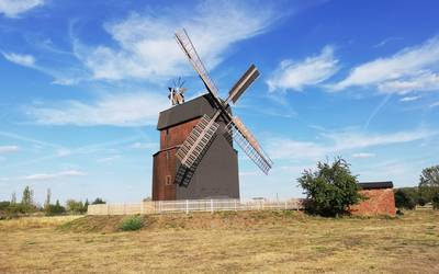 Paltrockwindmühle Parey © Landkreis Jerichower Land