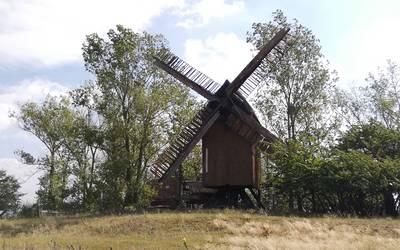 Bockwindmühle Hohenwarthe © Landkreis Jerichower Land