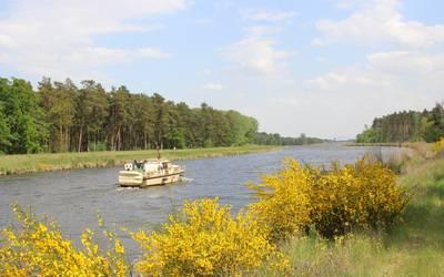 Elbe-Havel-Kanal bei Kade © Landkreis Jerichower Land