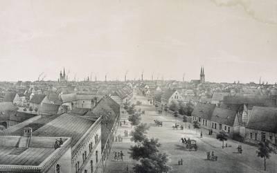Burg 1850 © Landkreis Jerichower Land