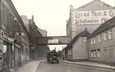 Burger Schuhfabrik Conrad Tack 1920 © Landkreis Jerichower Land
