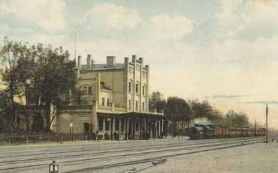 Staatsbahnhof Genthin 1900 © Landkreis Jerichower Land