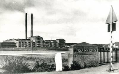Zuckerfabrik Genthin 1930 © Landkreis Jerichower Land