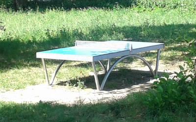 Tischtennisplatte Brandenstein © Stadt Möckern