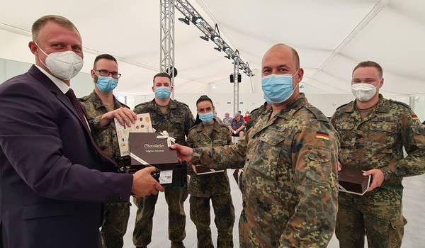 Dank an Bundeswehr für Unterstützung